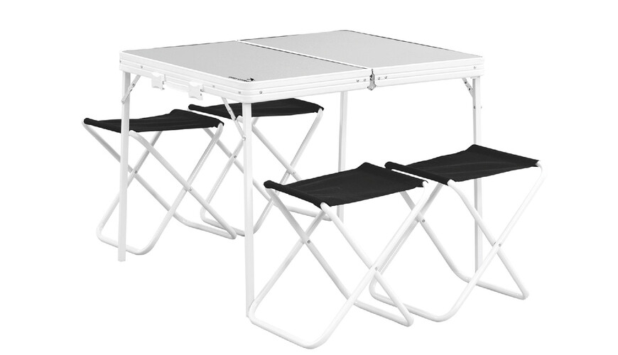 Easy Camp Provence - Table de camping - gris/noir